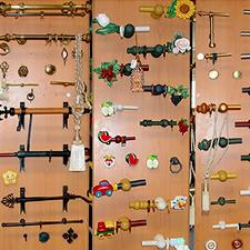 Confeccion a medida de cortinas estores panel japones for Accesorios para colgar cortinas